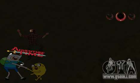 C-HUD Jack and Finn for GTA San Andreas third screenshot