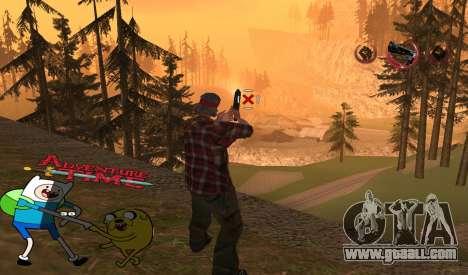 C-HUD Jack and Finn for GTA San Andreas second screenshot