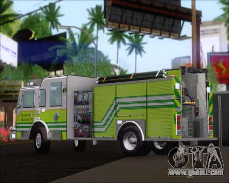 Pierce Arrow XT Miami Dade FD Engine 45 for GTA San Andreas