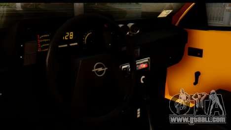 Opel Kadett GSI Drag 2015 for GTA San Andreas back left view