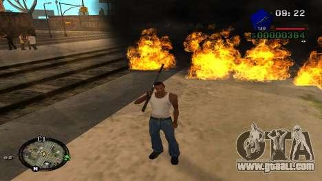 C-HUD by Kidd for GTA San Andreas fifth screenshot