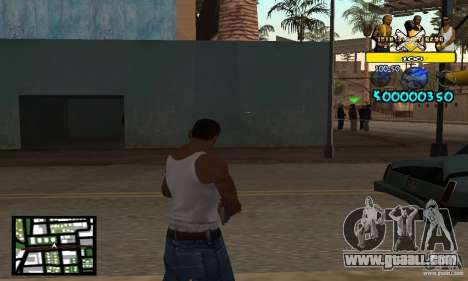 Tawer Getto HUD for GTA San Andreas