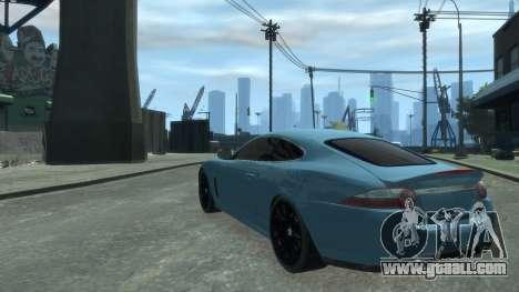 Jaguar XK v.2.0 for GTA 4 right view