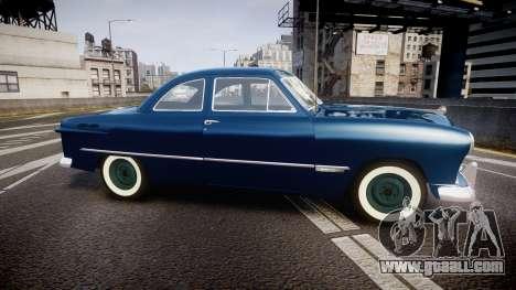 Ford Custom Club 1949 for GTA 4 left view