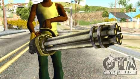 Minigun from Redneck Kentucky for GTA San Andreas third screenshot