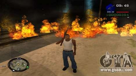 C-HUD by Kidd for GTA San Andreas sixth screenshot