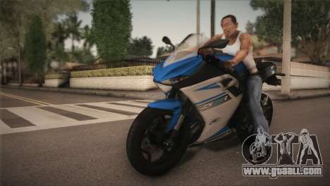 Kawasaki Ninja ZX25R for GTA San Andreas