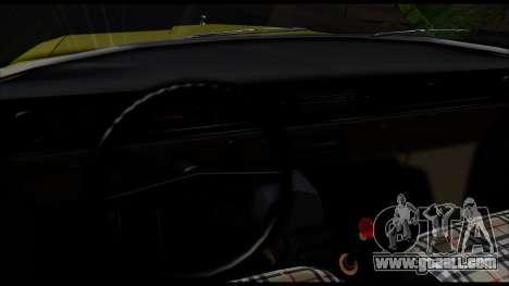 GAZ 24 Volga for GTA San Andreas back view