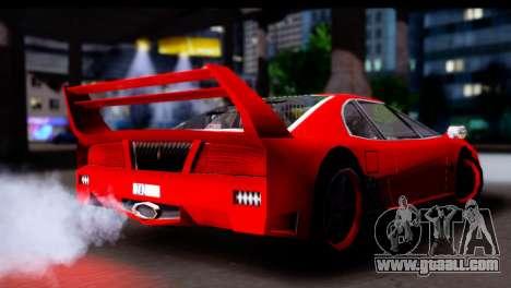 Turismo Pro X for GTA San Andreas right view