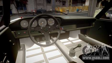 Porsche 911 Carrera RSR 3.0 1974 PJ53 for GTA 4 inner view