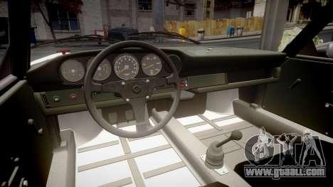 Porsche 911 Carrera RSR 3.0 1974 PJ43 for GTA 4 inner view
