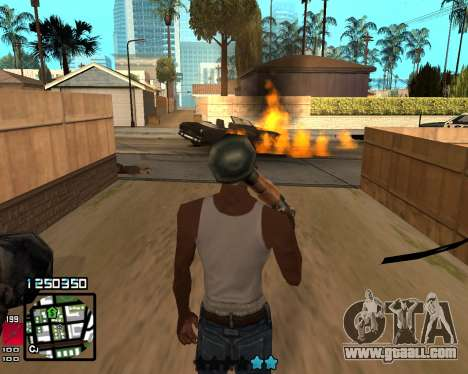 C-HUD Compact for GTA San Andreas second screenshot
