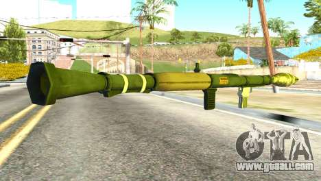 Rocket Launcher from GTA 5 for GTA San Andreas second screenshot