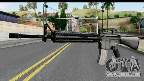 M4A1 from State of Decay for GTA San Andreas