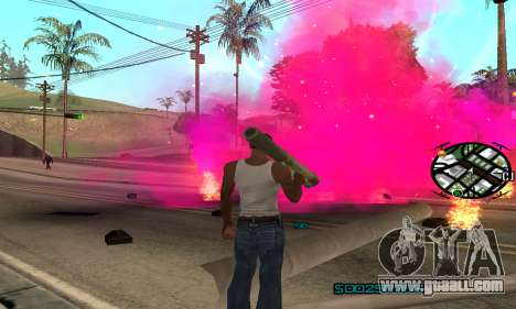 New Pink Effects for GTA San Andreas second screenshot