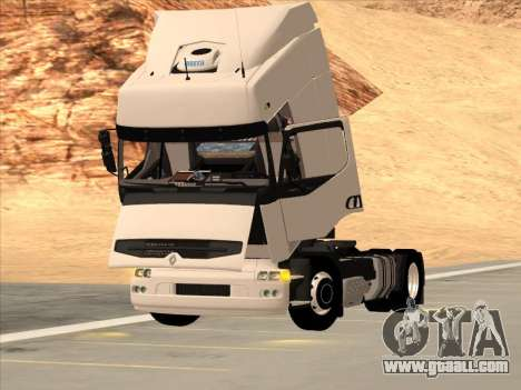 Renault Premium for GTA San Andreas bottom view