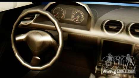 GTA 5 Obey 9F Cabrio for GTA San Andreas back left view