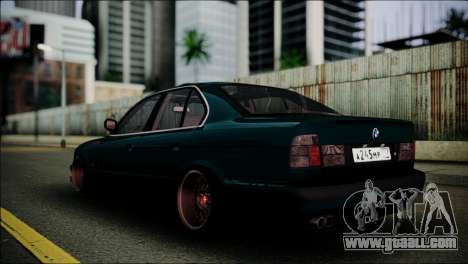 BMW 525 E34 for GTA San Andreas left view