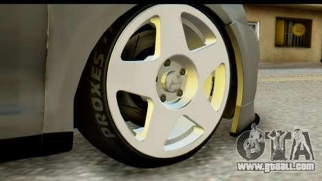 Volkswagen Bora GLI 2010 Tuned for GTA San Andreas back left view