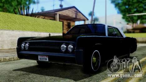 Lincoln Continental for GTA San Andreas