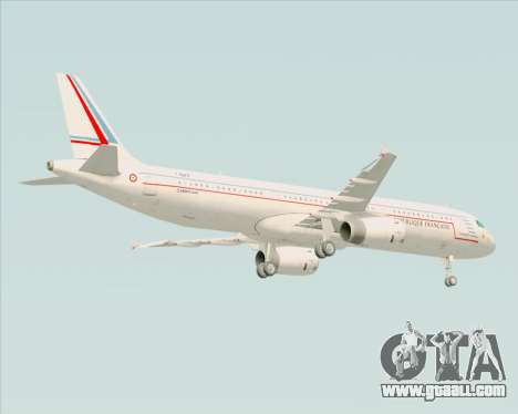 Airbus A321-200 French Government for GTA San Andreas