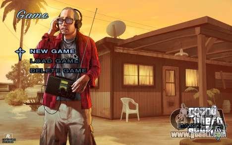 GTA 5 Menu for GTA San Andreas third screenshot