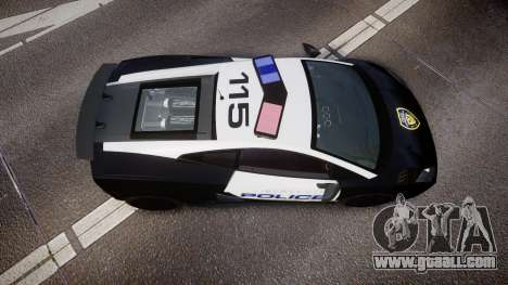Lamborghini Gallardo LP570-4 LCPD [ELS] for GTA 4 right view