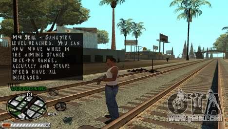 C-HUD Wonderful for GTA San Andreas forth screenshot