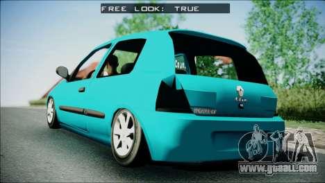 Renault Clio Beta v1 for GTA San Andreas left view