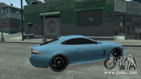 Jaguar XK v.2.0 for GTA 4 left view