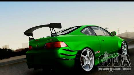 Honda Integra Type R Time Attack IVF for GTA San Andreas left view