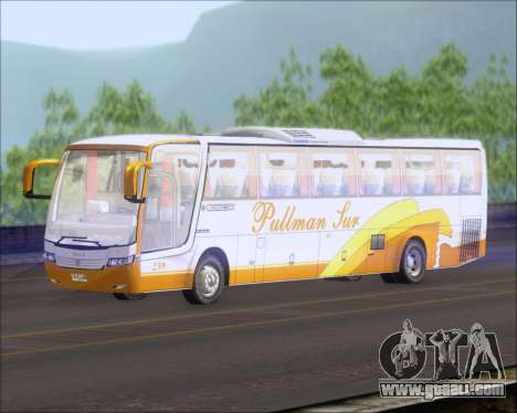 Busscar Vissta Buss LO Pullman Sur for GTA San Andreas back left view
