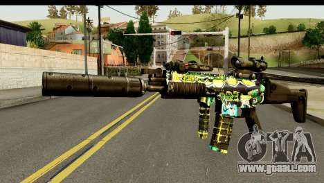 Grafiti M4 for GTA San Andreas