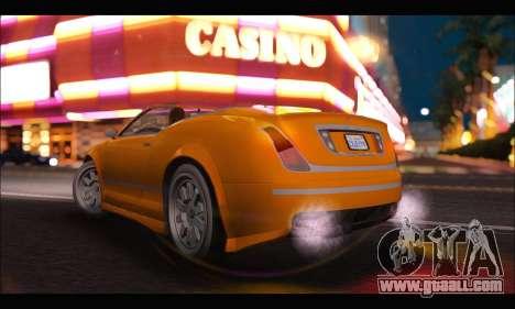 Enus Cognoscenti Cabrio (GTA V) (IVF) for GTA San Andreas left view
