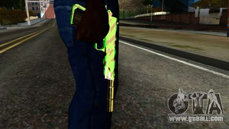 New Silenced Pistol for GTA San Andreas third screenshot
