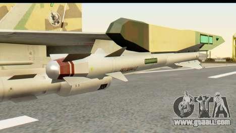 SU-35 Flanker-E ACAH for GTA San Andreas right view