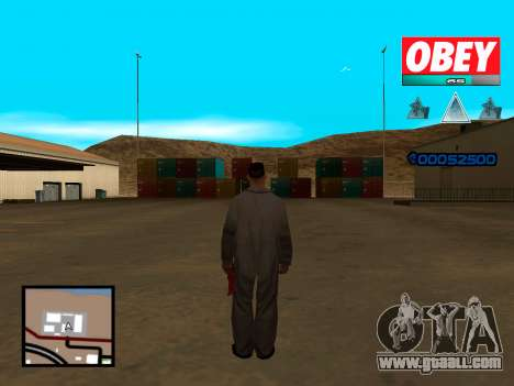 C-HUD Obey for GTA San Andreas second screenshot