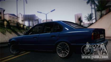 BMW M5 E34 Stance for GTA San Andreas back left view