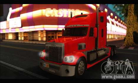 Freightliner Coronado v.2 for GTA San Andreas