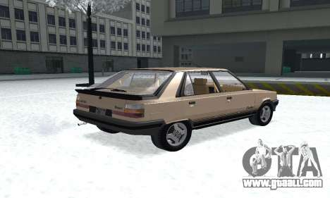 Renault 11 Turbo Phase I 1984 for GTA San Andreas left view