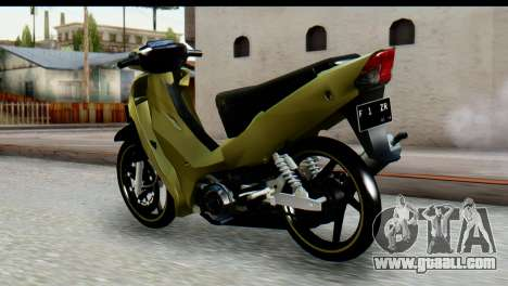 Yamaha F1ZR Stock for GTA San Andreas left view