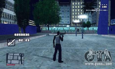 C-HUD GTA 4 with Map for GTA San Andreas