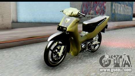 Yamaha F1ZR Stock for GTA San Andreas