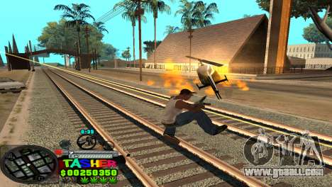 C-HUD Tasher for GTA San Andreas sixth screenshot