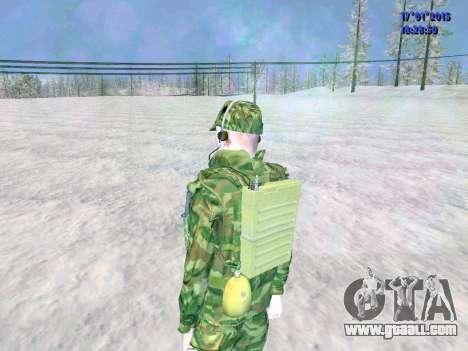 The airborne radio operator for GTA San Andreas fifth screenshot