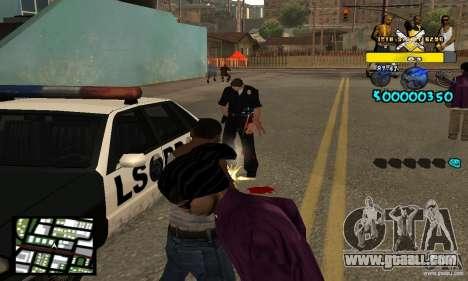 Tawer Getto HUD for GTA San Andreas third screenshot