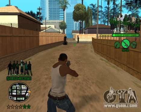 C-HUD Grove for GTA San Andreas third screenshot