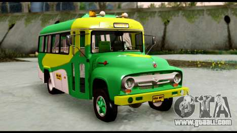 Ford Bus 1956 for GTA San Andreas