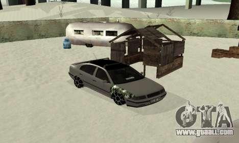 Skoda Octavia Winter Mode for GTA San Andreas right view