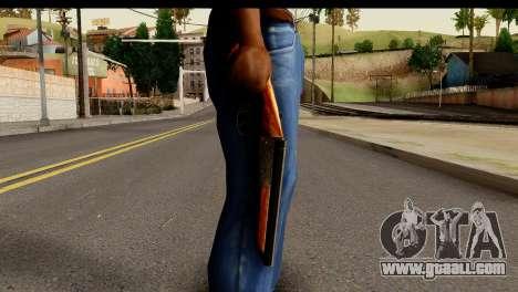 Sawnoff Shotgun HD for GTA San Andreas third screenshot